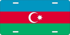 Azerbaijan License Plates
