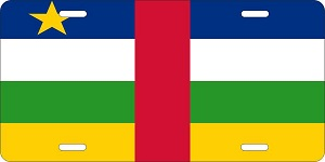 Central African Republic License Plates