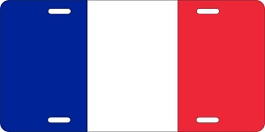 World Flags France License Plates