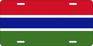 Gambia License Plates