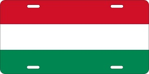 Hungary License Plates