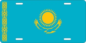 Kazakhstan License Plates