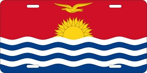 Kiribati License Plates
