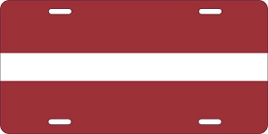 Latvia License Plates