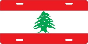 Lebanon License Plates