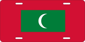 Maldives License Plates