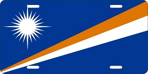 Marshall Islands License Plates
