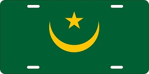 Mauritania License Plates