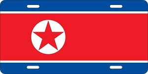 North Korea License Plates