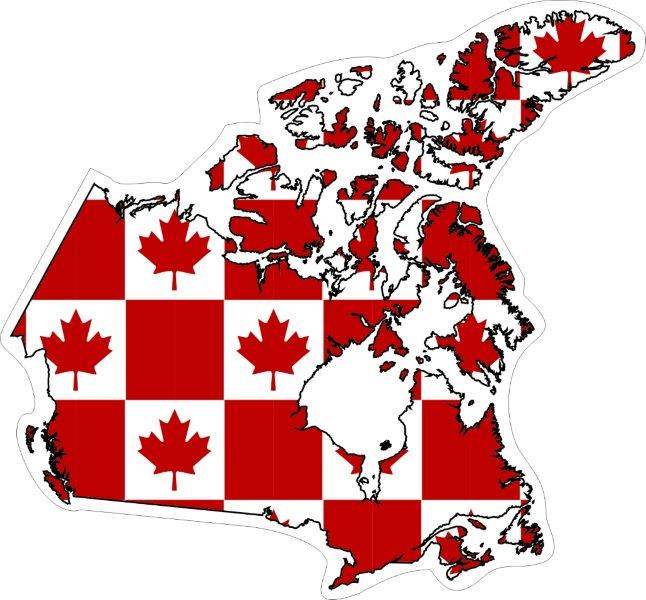 Canadian Provincial & Territorial related decals/stickers/bumper stickers/labels. Click for pricing & designs