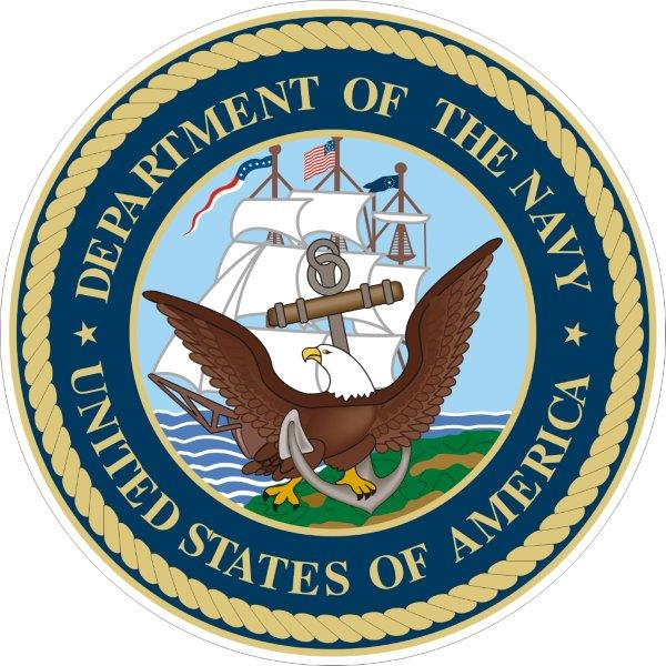 US navy decals/stickers/bumper stickers/labels. Click for pricing & designs